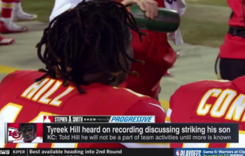 Tyreek Hill ESPN screenshot